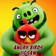 Игра Funny Angry Birds: Puzzles (Смешные Angry Birds: пазлы)